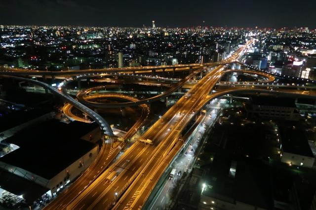 東大阪市 河内 なにわ 摂津 夜景
